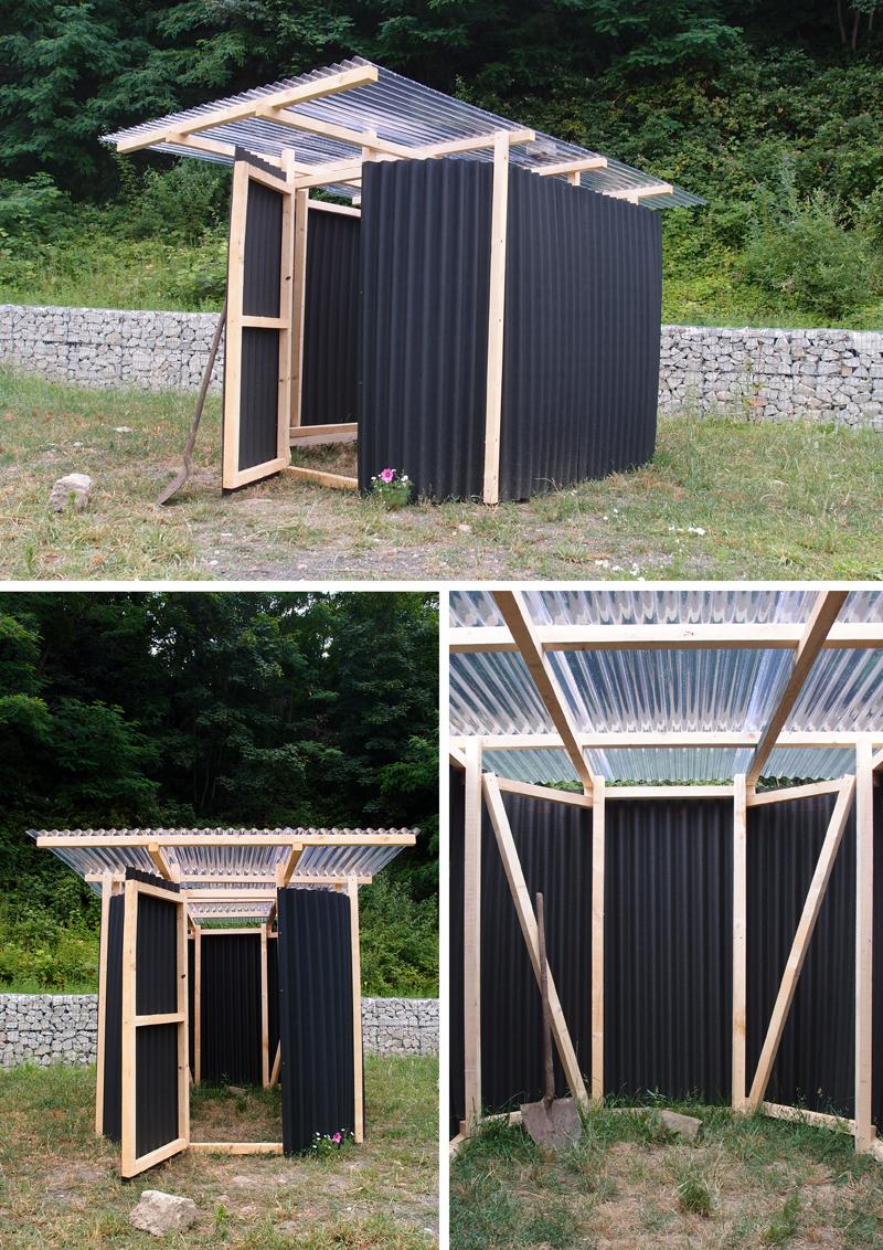 Je construis mon abri constructifs - Couverture toit abri de jardin ...